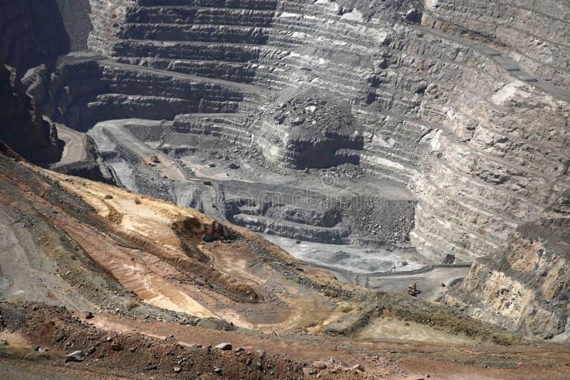 Супер яма на Kalgoorlie Австралии стоковая фотография