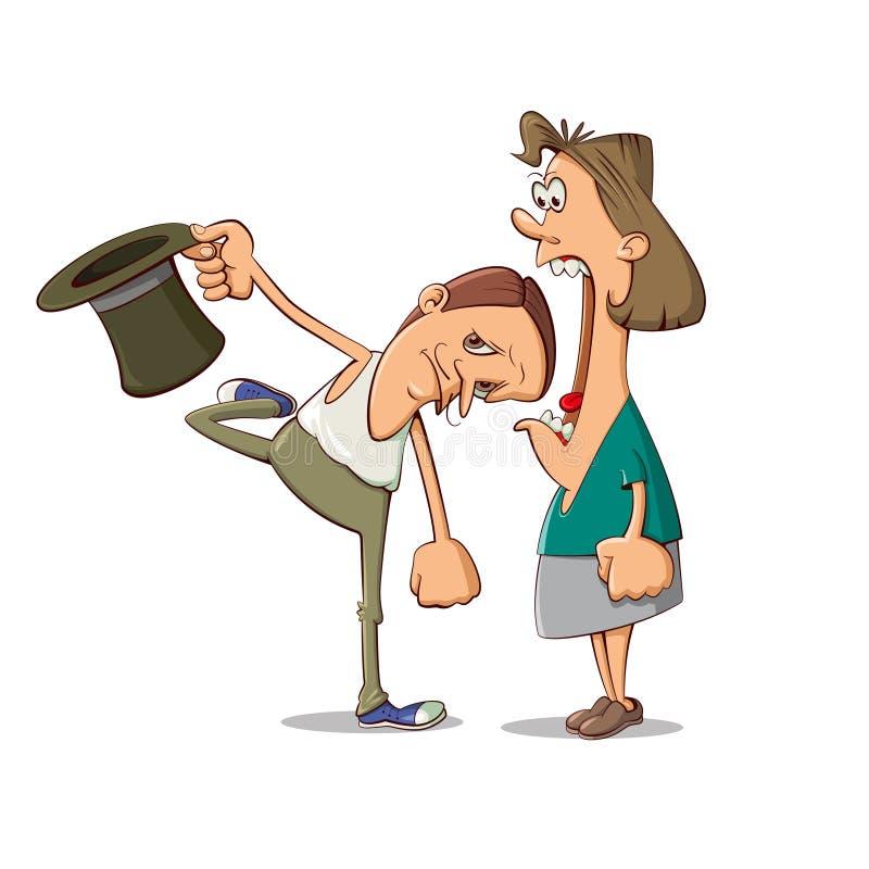 Супруг и супруга бесплатная иллюстрация