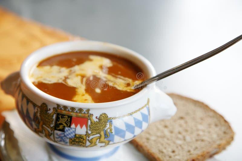 Download суп гуляша стоковое фото. изображение насчитывающей fiery - 6852068