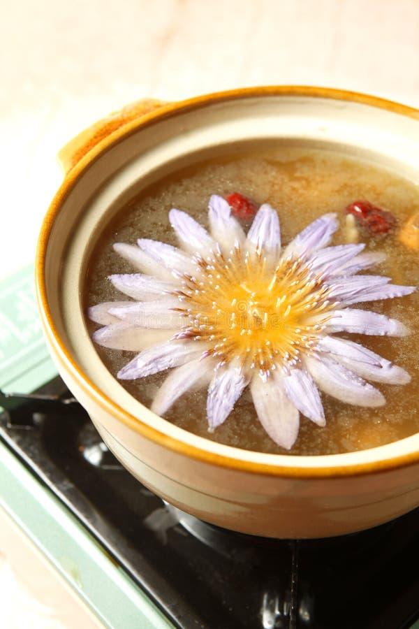 суп еды цыпленка китайский стоковое фото