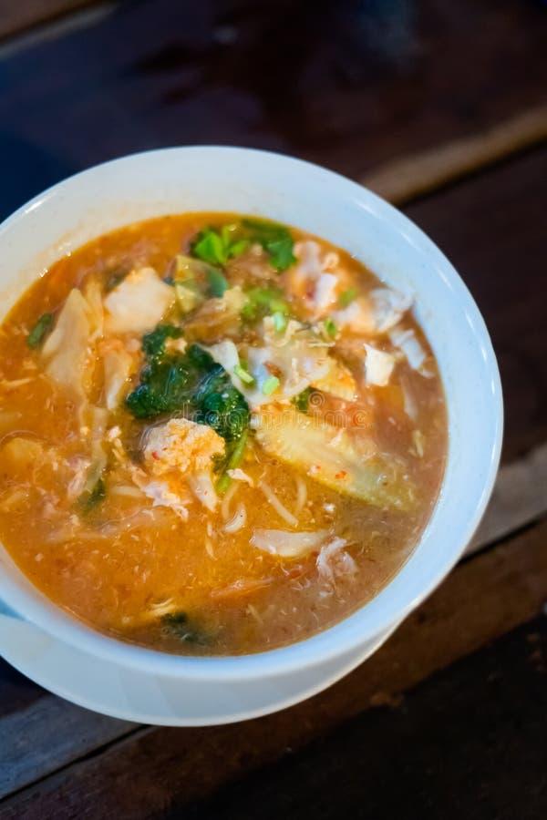 Суп лапши Mee Бандунга малайзийца стоковые изображения rf
