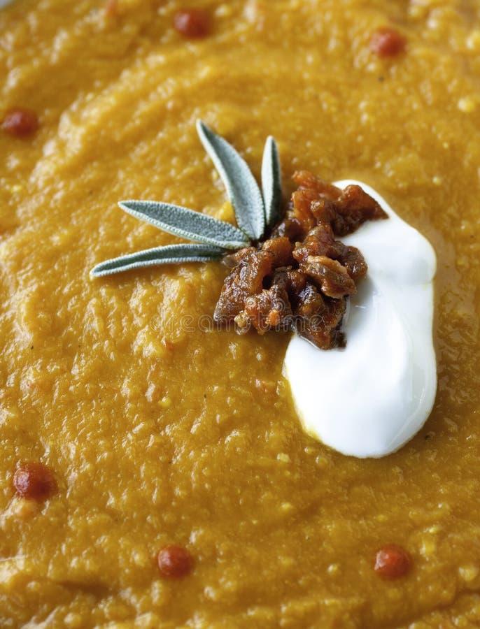 Суп моркови стоковая фотография