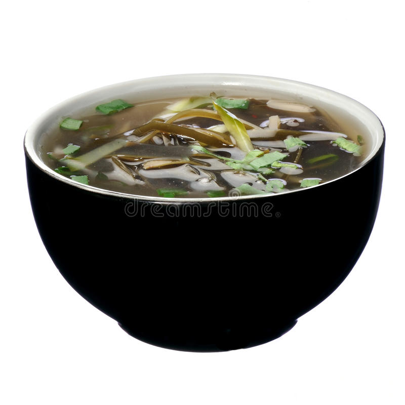Суп морской водоросли Hai tai стоковые фото