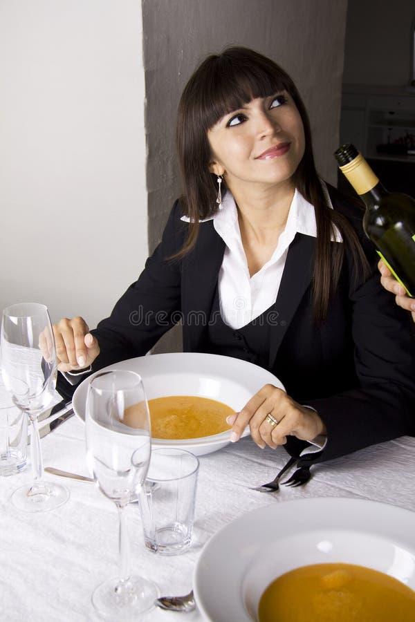 суп омара стоковое фото