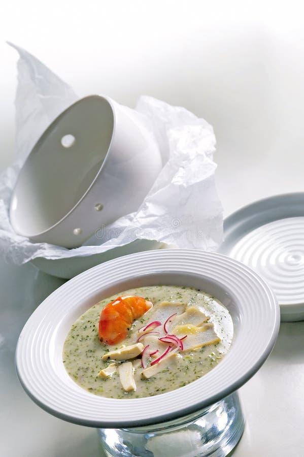суп продуктов моря стоковая фотография rf