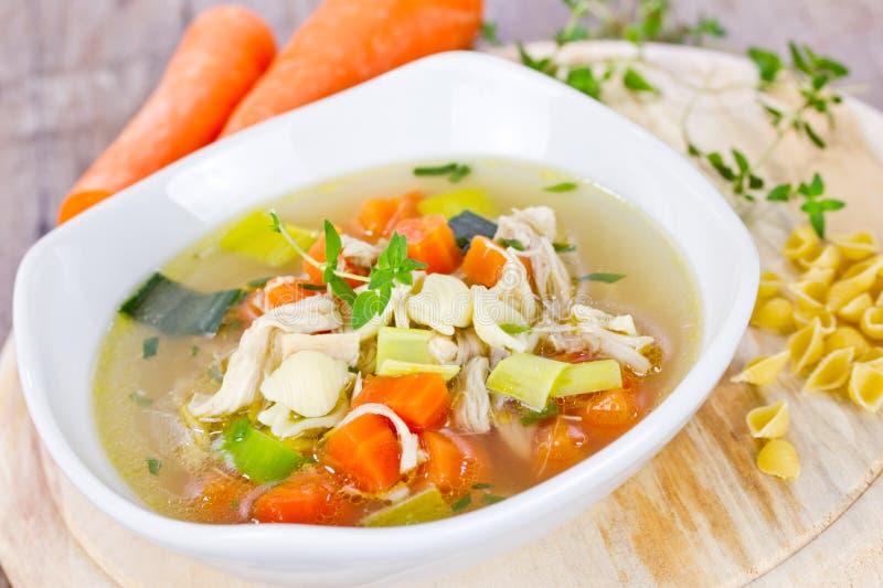 суп ресторана еды цыпленка китайский стоковое изображение rf