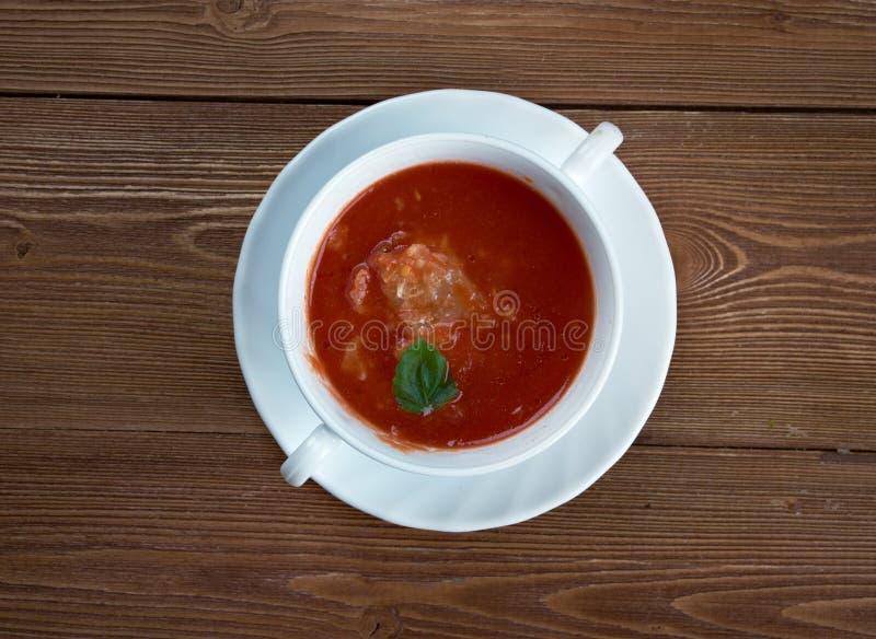 Суп рыболова стоковое изображение