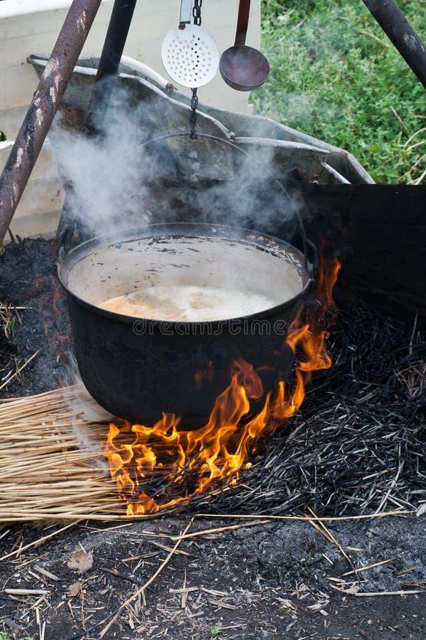 Суп рыб - путь перепада Дуна стоковые изображения