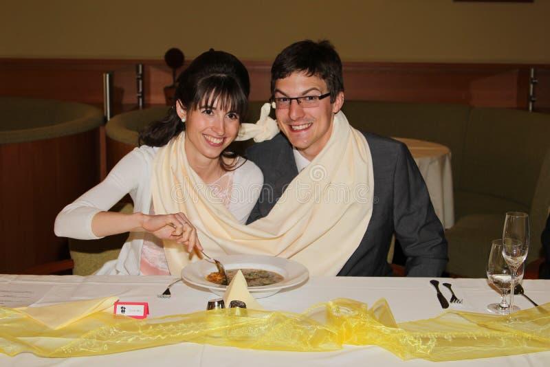 Суп свадьбы стоковая фотография