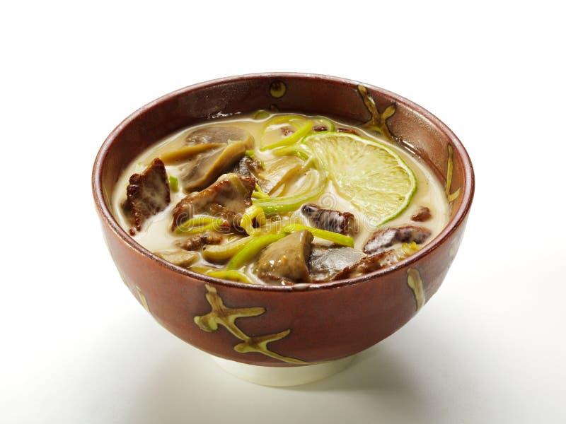 суп тайский стоковая фотография