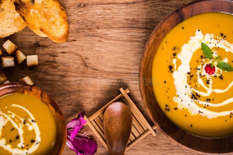 Суп тыквы НЕТ 005 стоковые фото