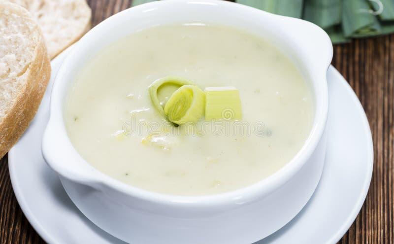 Суп лук-порея стоковые фото