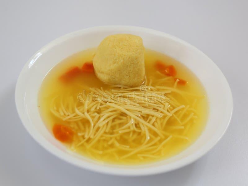 Суп шарика Matzoh стоковые фото