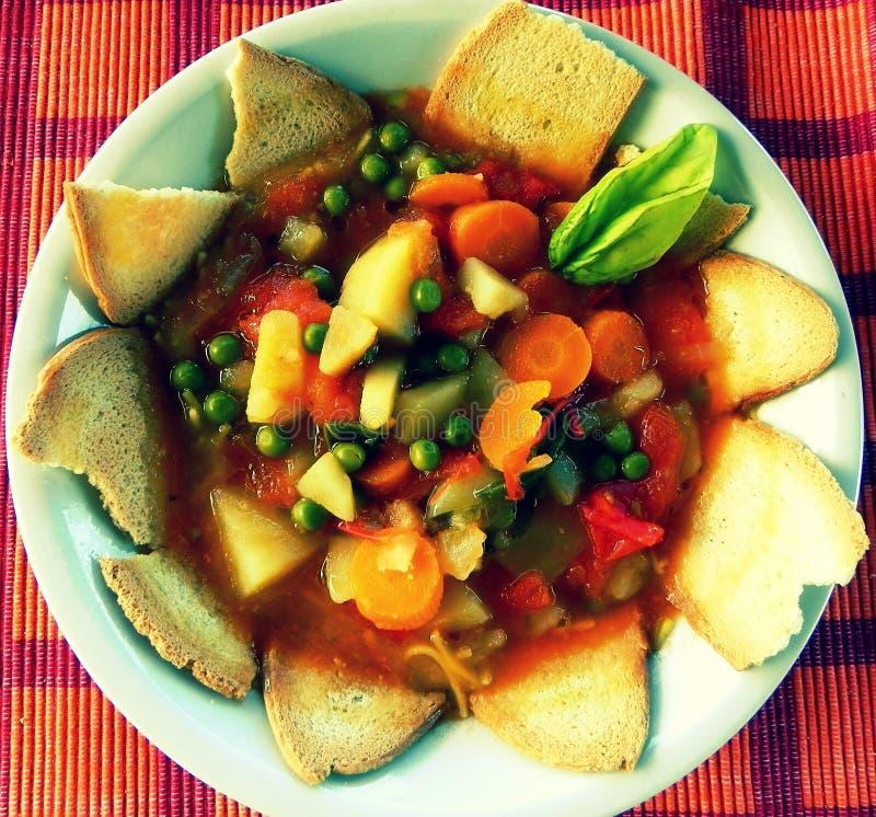 Суп стоковое изображение