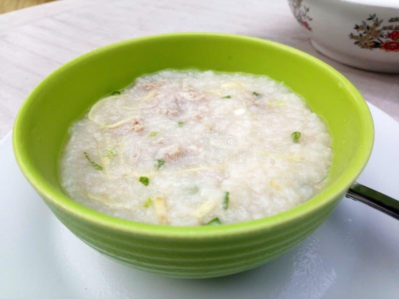 Суп Congee стоковое изображение rf