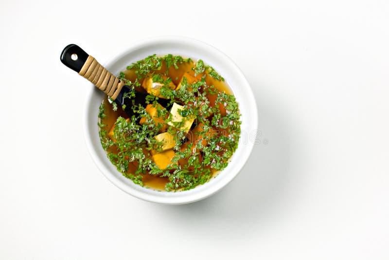 суп miso стоковое фото rf