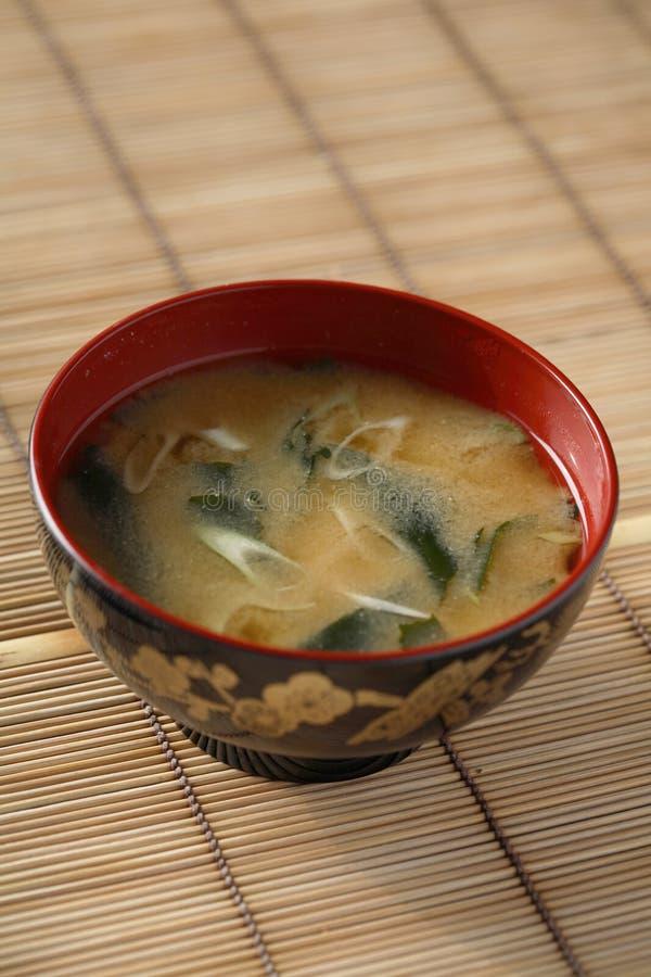суп miso стоковая фотография