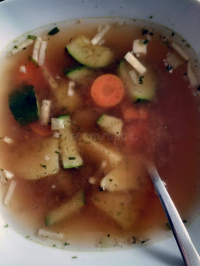 Суп Veggy стоковое изображение rf