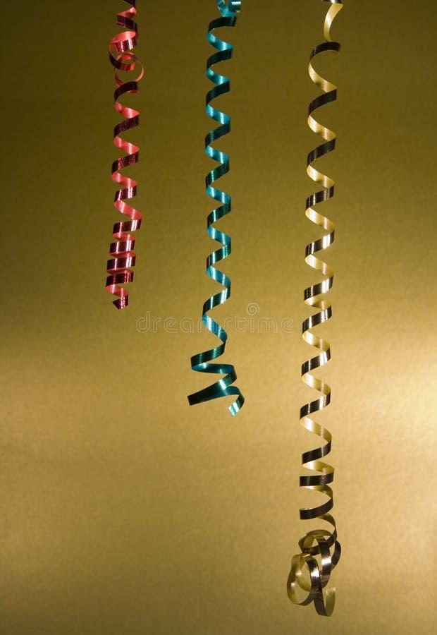 сусаль лент золота предпосылки сверкная стоковое фото rf