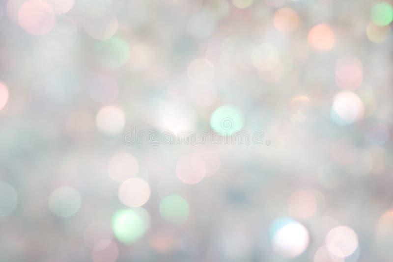 сусаль предпосылки праздничная defocused стоковая фотография rf