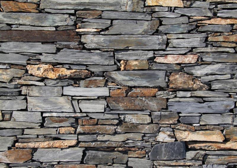 сухая каменная стена стоковая фотография rf