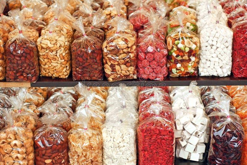 сухие плодоовощи стоковые фото