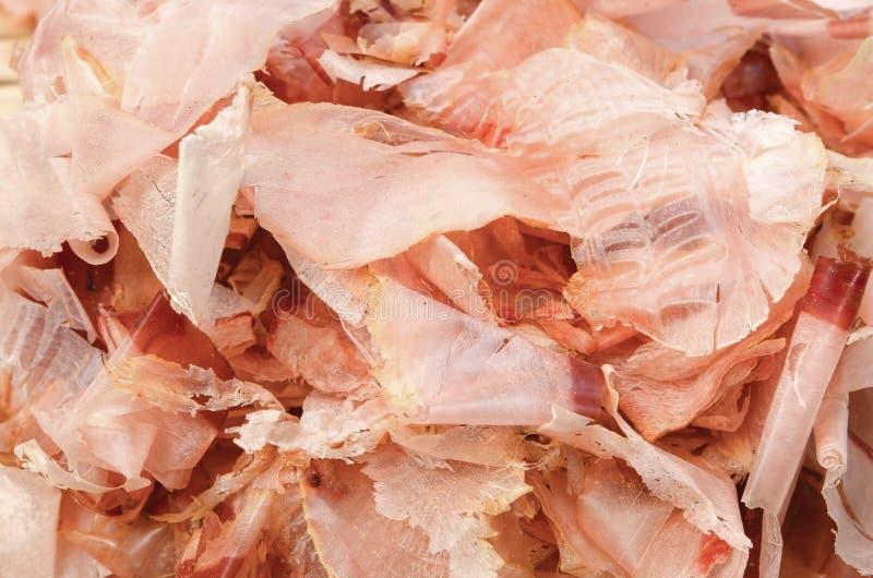 сухие хлопья рыб стоковые фотографии rf
