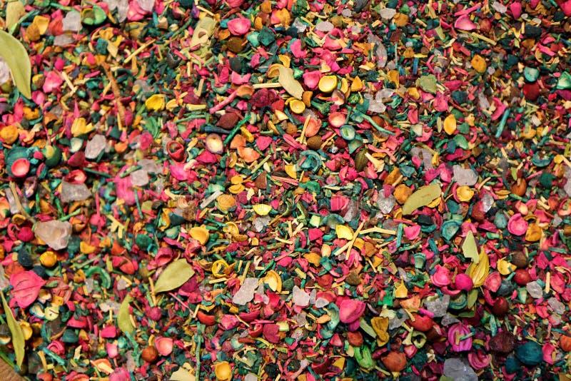 Сухие цветки и плодоовощ стоковое фото
