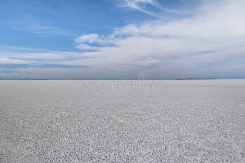 Сухое соль Салара de Uyuni плоское - отдел Potosi, Боливия стоковые изображения rf