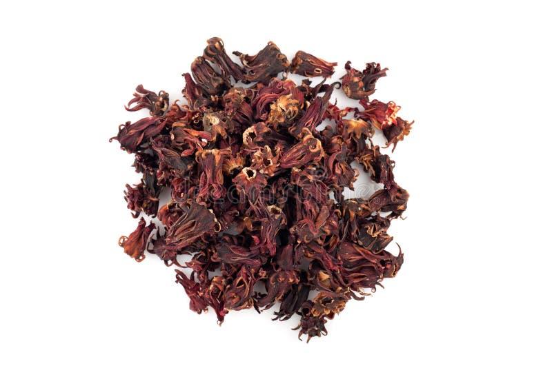 Сухой красный плодоовощ rosella стоковые изображения