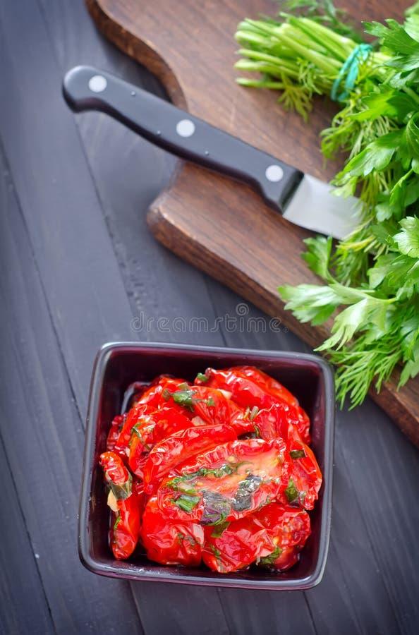 Download сухой томат стоковое фото. изображение насчитывающей плодоовощ - 41660158