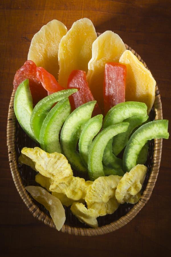 Сушеные и каменистые фрукты стоковые фото
