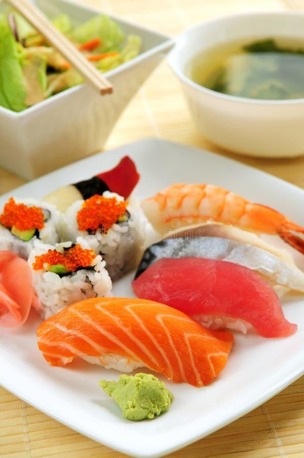суши обеда стоковая фотография