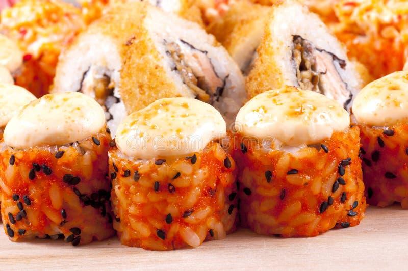 Суши от рыб стоковое изображение rf