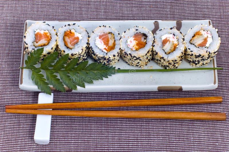 Суши от рыб стоковое изображение