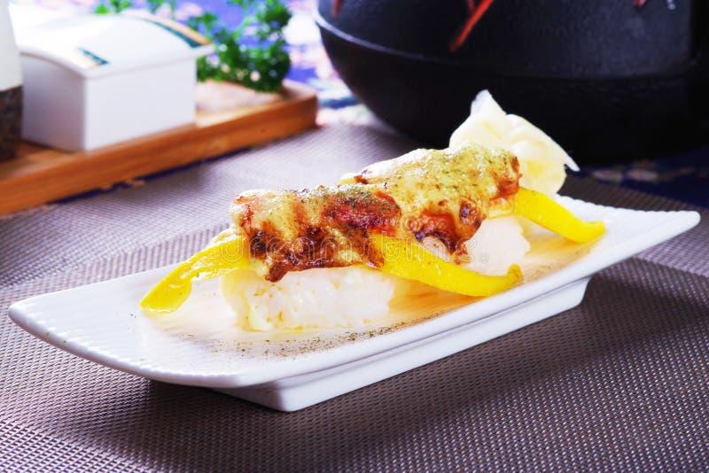 Суши семг манго стоковые фото