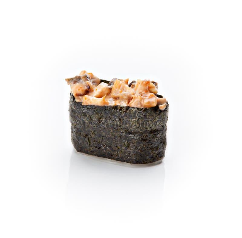 суши серии nigiri еды стоковые фото