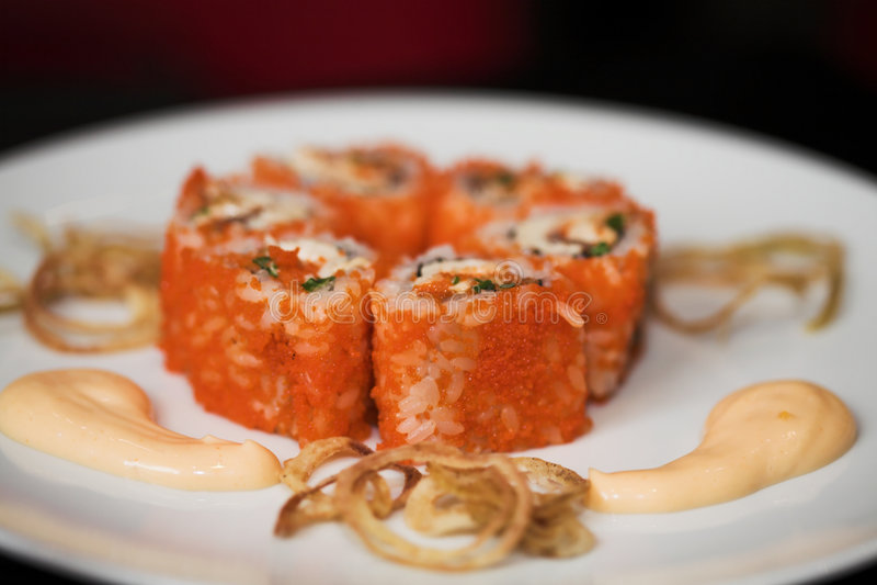 суши японца еды стоковое фото rf