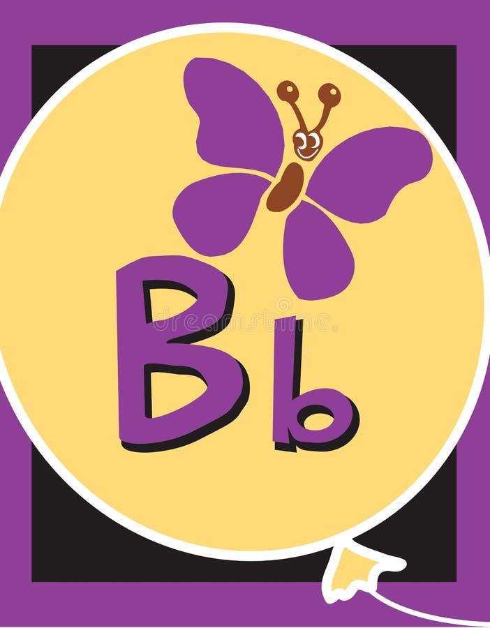 существительные письма вспышки карточки b бесплатная иллюстрация