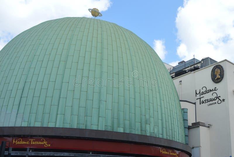 Сударыня Tassaud Лондон стоковое изображение