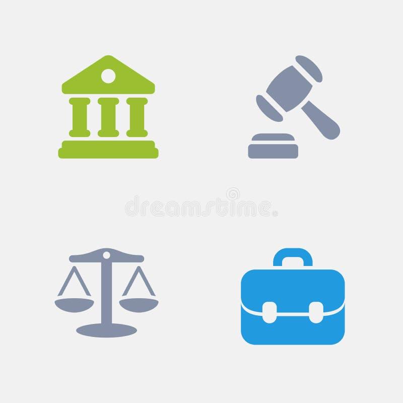 Судебный прецедент - значки гранита бесплатная иллюстрация