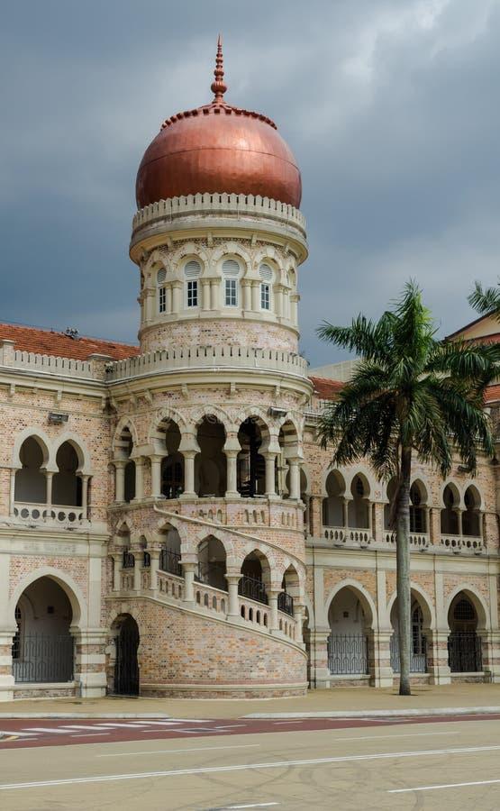 султан samad здания abdul стоковое фото
