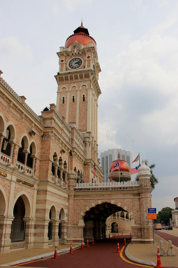 султан samad здания abdul стоковая фотография