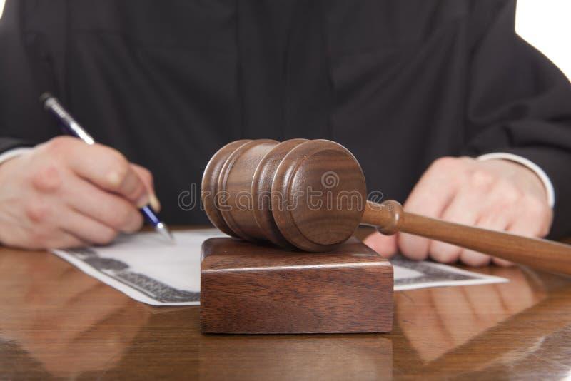Судья стоковое изображение rf