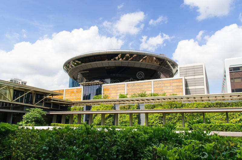 суд singapore высший стоковое фото