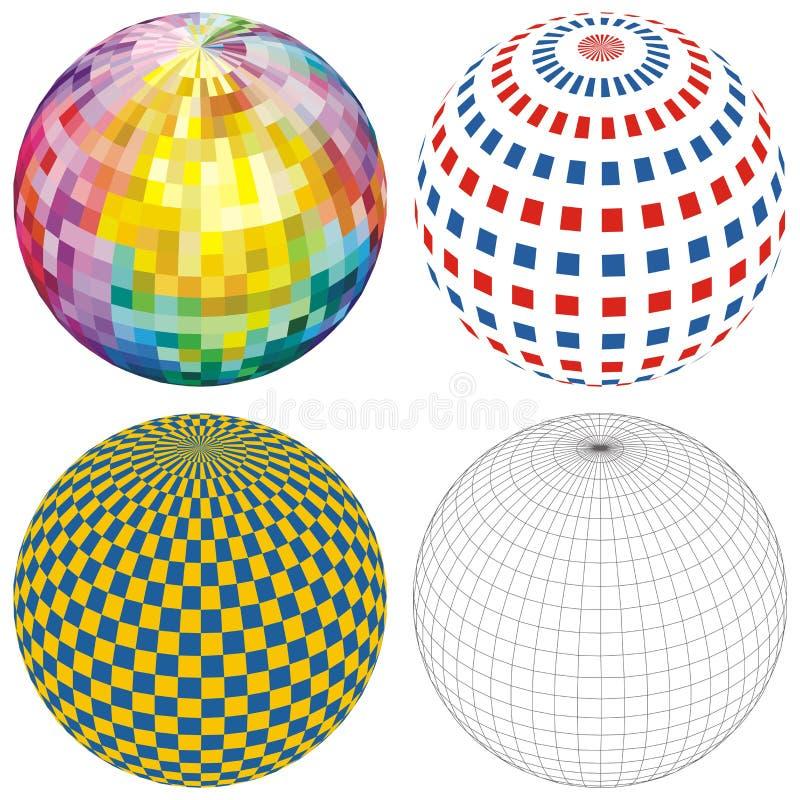 сфера глобуса шарика бесплатная иллюстрация