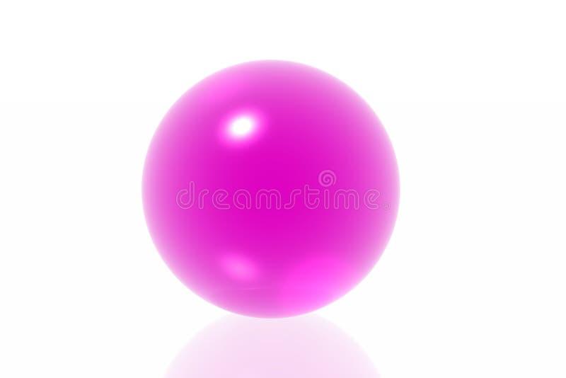 сфера magneta иллюстрация штока