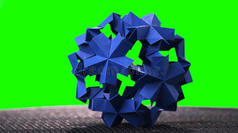 Сферически модульный объект origami стоковая фотография