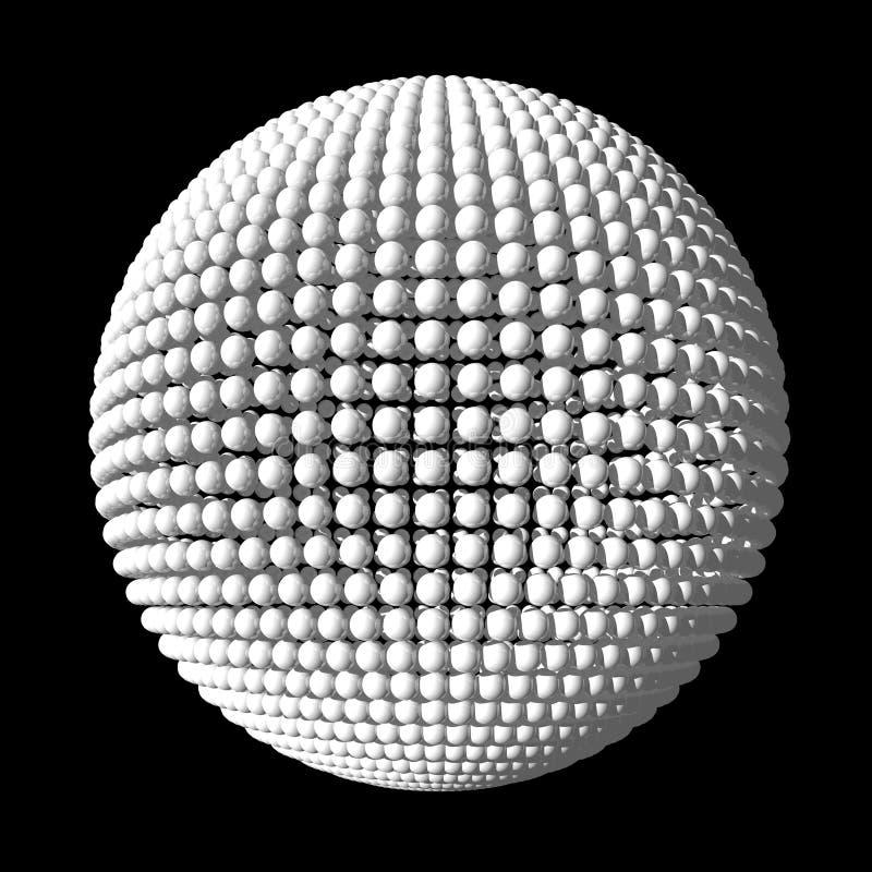 Download сферы сферы белые иллюстрация штока. иллюстрации насчитывающей сила - 6856526