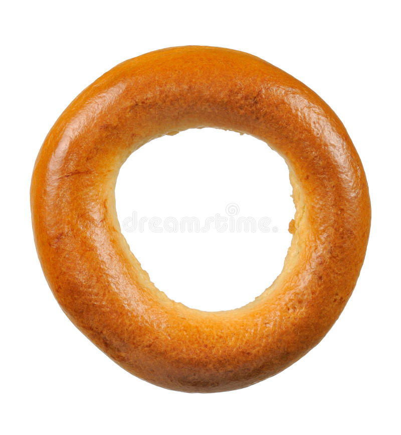 сформированный крен кольца хлеба bagel стоковое изображение rf